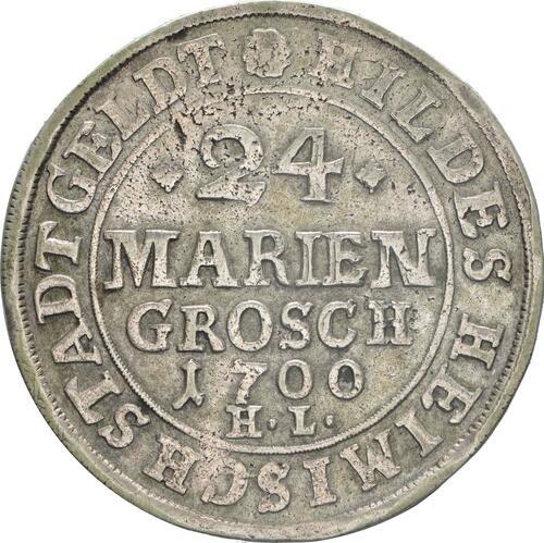 Vorderseite:Deutschland : 24 Mariengroschen   1700 ss.