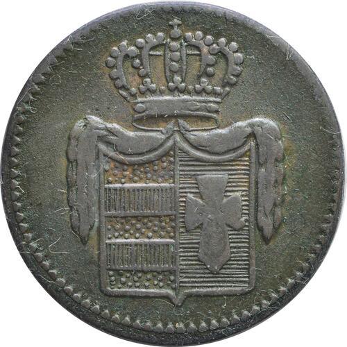 Rückseite :Deutschland : 1/2 Grote   1835 ss.