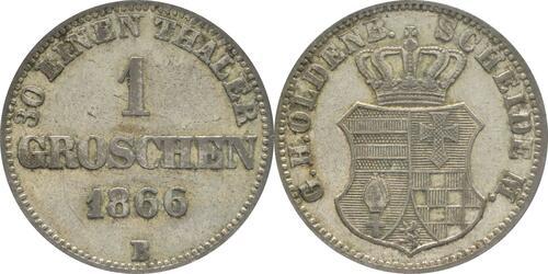 Lieferumfang :Deutschland : 1 Groschen   1866 ss.