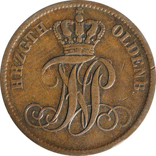 Rückseite:Deutschland : 3 Schwaren   1858 ss.