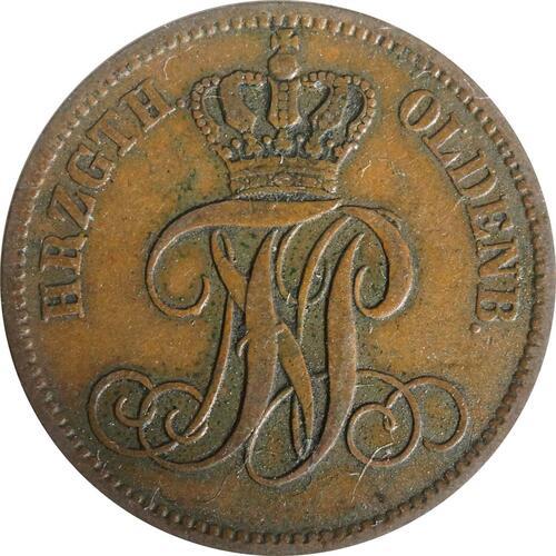 Rückseite:Deutschland : 3 Schwaren   1860 ss/vz.