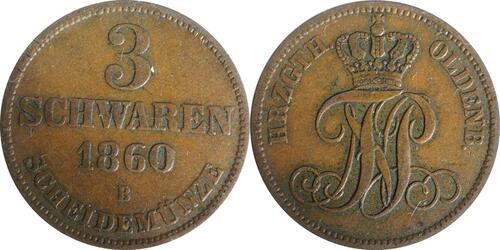 Lieferumfang:Deutschland : 3 Schwaren   1860 ss/vz.