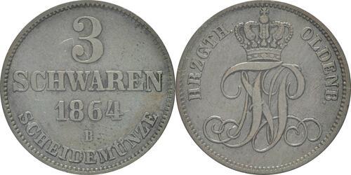 Lieferumfang:Deutschland : 3 Schwaren   1964 ss/vz.