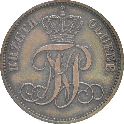 Rückseite:Deutschland : 3 Schwaren   1865 vz.