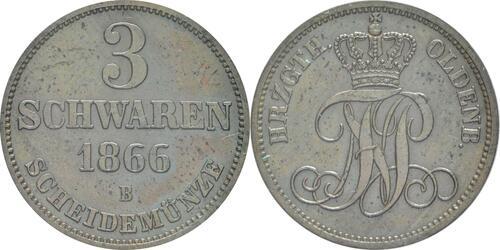 Lieferumfang :Deutschland : 3 Schwaren   1866 vz.