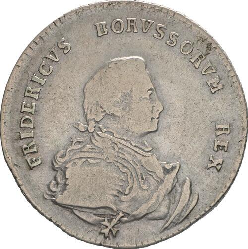 Vorderseite:Deutschland : 1/4 Taler   1750 ss.