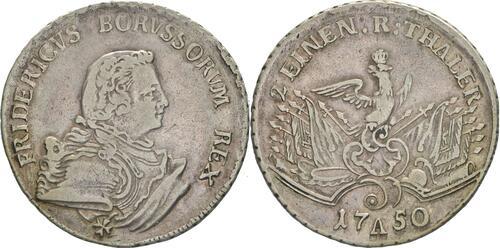 Lieferumfang:Deutschland : 1/2 Reichstaler   1750 ss/vz.