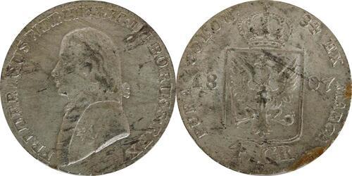 Lieferumfang:Deutschland : 4 Groschen  Schrtlf. 1807 vz.
