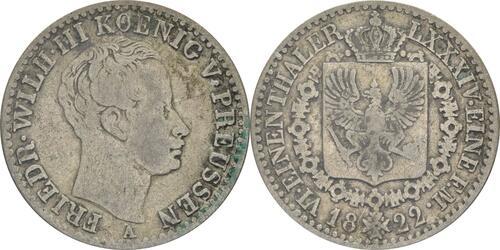 Lieferumfang:Deutschland : 1/6 Taler   1822 s/ss.