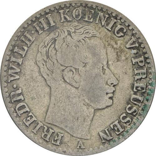 Vorderseite:Deutschland : 1/6 Taler   1822 s/ss.