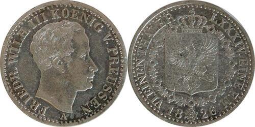 Lieferumfang:Deutschland : 1/6 Taler   1826 ss.