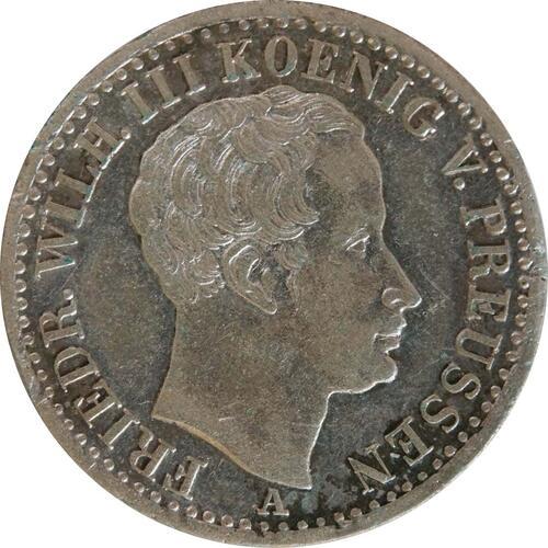 Vorderseite:Deutschland : 1/6 Taler   1826 ss.