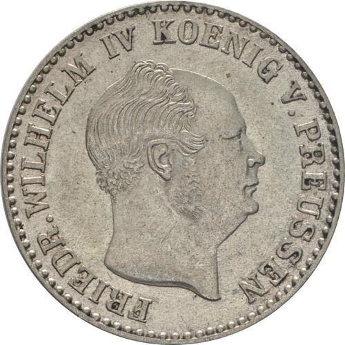 Vorderseite:Deutschland : 2 1/2 Silbergroschen   1854 vz.