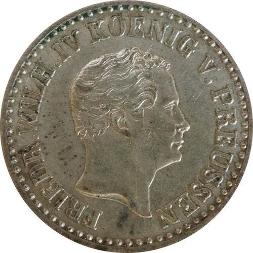 Rückseite :Deutschland : 1 Silbergroschen   1850 vz.