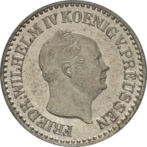 Vorderseite :Deutschland : 1 Silbergroschen   1854 Stgl.