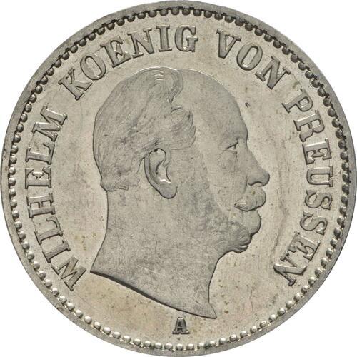 Vorderseite:Deutschland : 1/6 Taler  winz. Kratzer 1865 f.Stgl.