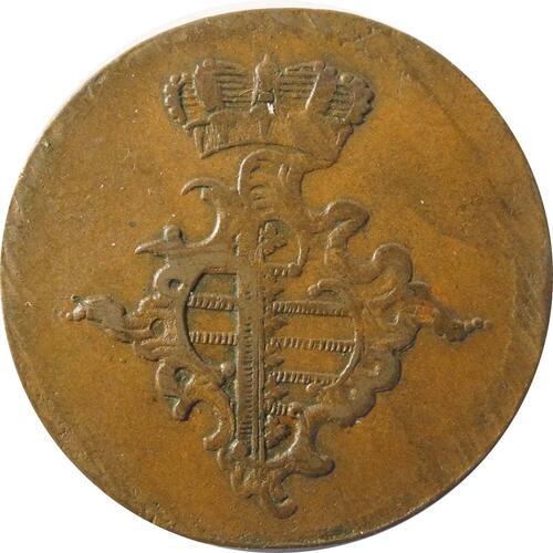 Rückseite :Deutschland : 3 Pfennig   1760 ss.