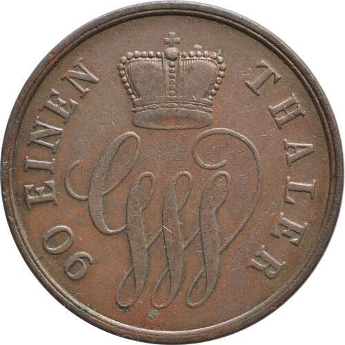 Rückseite:Deutschland : 4 Pfennnig   1858 vz.
