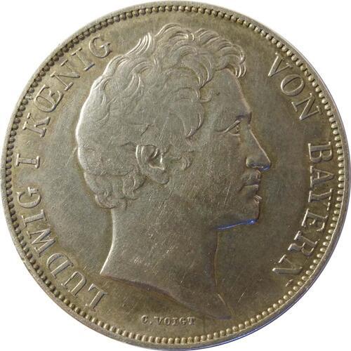 Rückseite :Deutschland : 1 Gulden   1840 ss/vz.