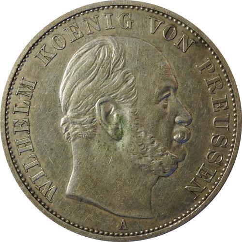 Rückseite :Deutschland : 1 Siegestaler   1871 ss.
