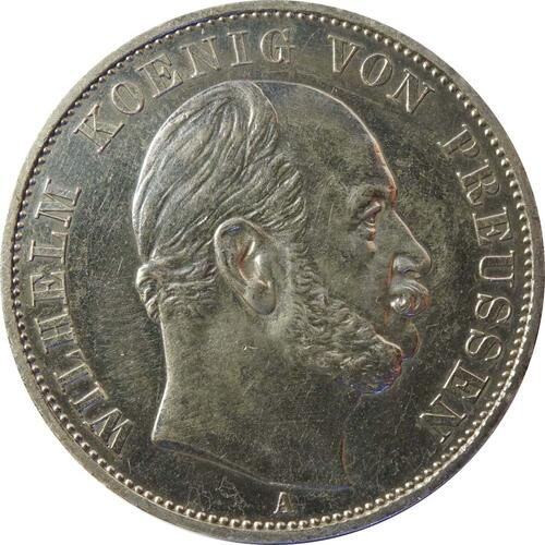 Rückseite:Deutschland : 1 Siegestaler   1871 ss.