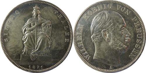 Lieferumfang:Deutschland : 1 Siegestaler   1871 ss.