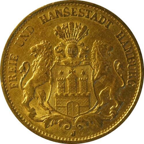 Vorderseite:Deutschland : 20 Mark   1899 ss.