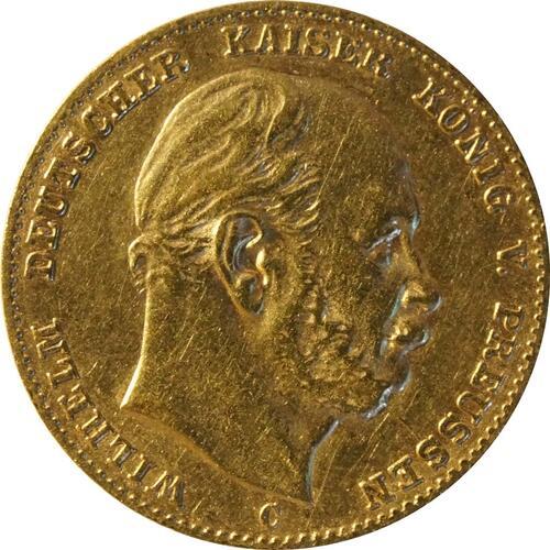 Vorderseite :Deutschland : 10 Mark   1875 ss.