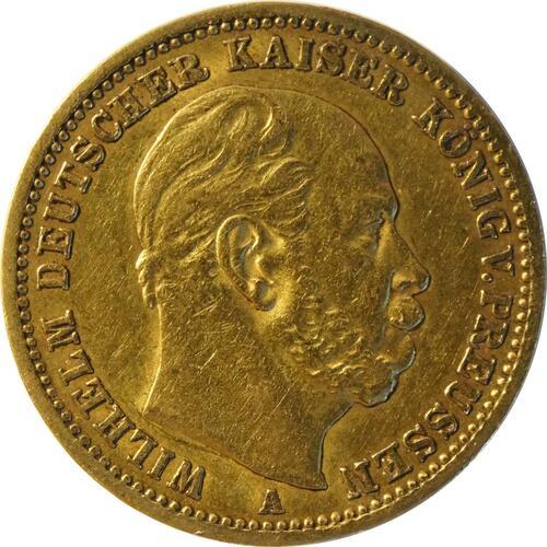 Vorderseite:Deutschland : 20 Mark   1873 ss.