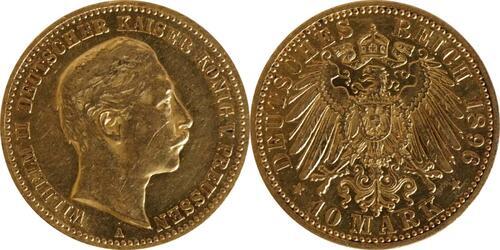 Lieferumfang :Deutschland : 10 Mark   1896 ss/vz.