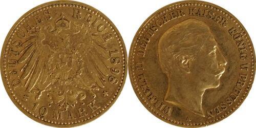 Lieferumfang:Deutschland : 10 Mark   1898 ss.