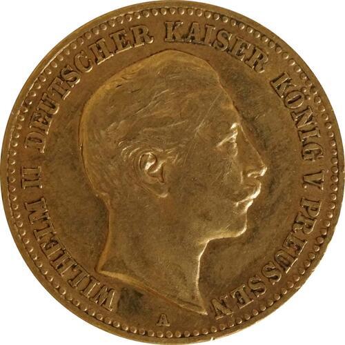 Vorderseite:Deutschland : 10 Mark   1898 ss.