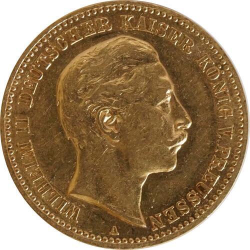 Vorderseite:Deutschland : 10 Mark   1901 ss/vz.