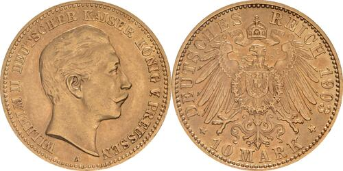 Lieferumfang :Deutschland : 10 Mark   1903 vz.