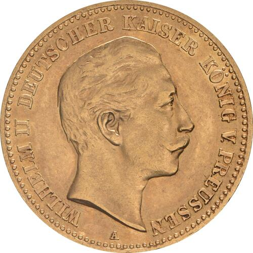 Vorderseite :Deutschland : 10 Mark   1903 vz.
