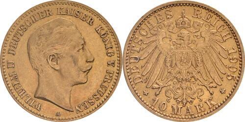 Lieferumfang:Deutschland : 10 Mark   1905 vz.