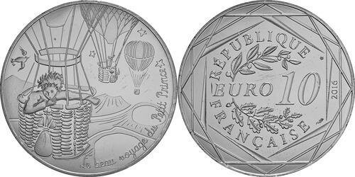 Lieferumfang:Frankreich : 10 Euro 18/24 Der kleine Prinz im Ballon  2016 bfr
