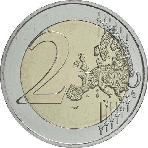 Vorderseite:Griechenland : 2 Euro 120. Geburtstag von Dimitri Mitropoulos  2016 bfr