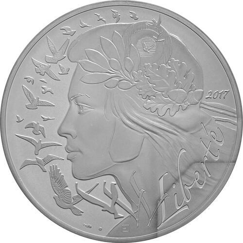 Vorderseite:Frankreich : 100 Euro Marianne  2017 Stgl.