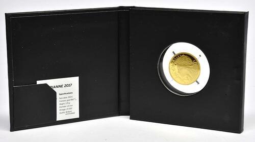 Lieferumfang:Frankreich : 250 Euro Marianne  2017 Stgl.