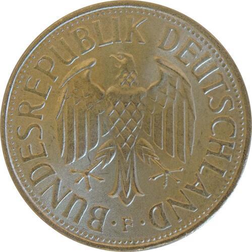 Rückseite :Deutschland : 1 DM Kursmünze  1970 Stgl.