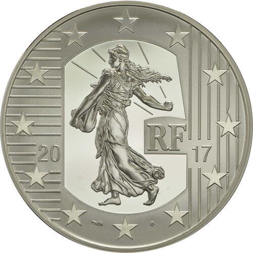 Rückseite:Frankreich : 10 Euro Louis d'or  2017 PP