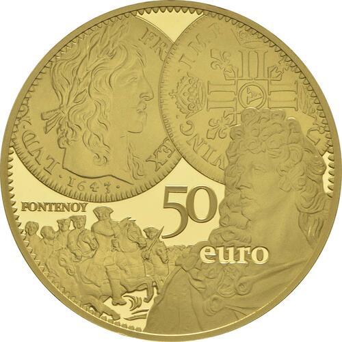 Vorderseite:Frankreich : 50 Euro Louis d'or  2017 PP