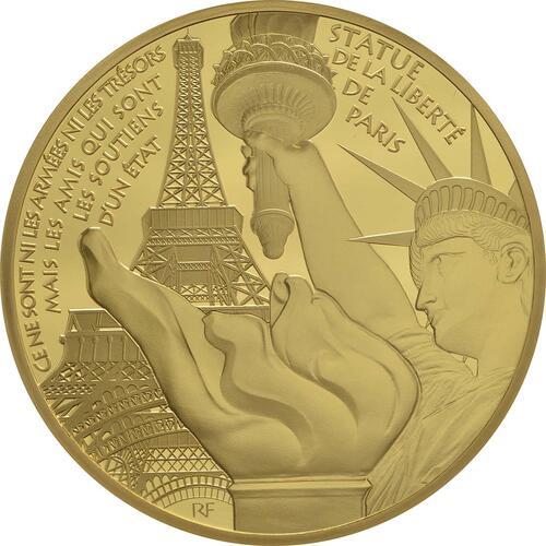 Vorderseite:Frankreich : 200 Euro Freiheitsstatue  2017 PP