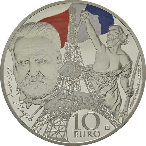 Vorderseite:Frankreich : 10 Euro Zeitalter des Eisens und des Glases  2017 PP