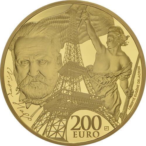 Vorderseite:Frankreich : 200 Euro Zeitalter des Eisens und des Glases  2017 PP
