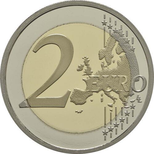 Vorderseite :Frankreich : 2 Euro Rodin  2017 PP