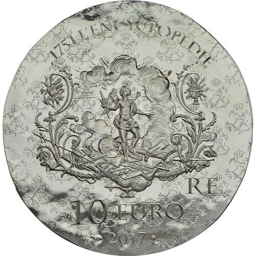 Rückseite :Frankreich : 10 Euro Marquise de Pompadour  2017 PP