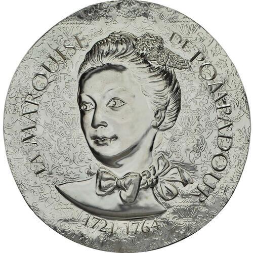 Vorderseite :Frankreich : 10 Euro Marquise de Pompadour  2017 PP
