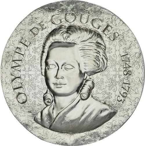 Vorderseite :Frankreich : 10 Euro Olympe de Gouges  2017 PP